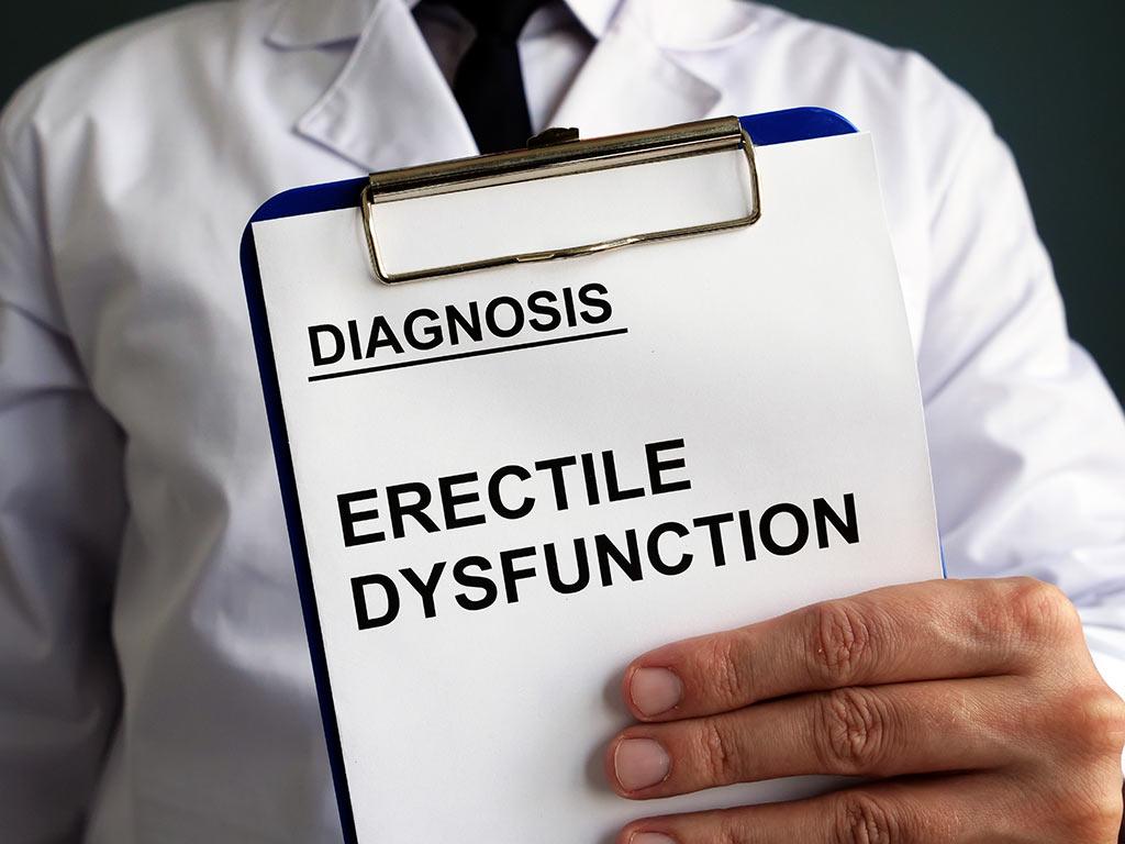 Diagnostics of erectile dysfunction