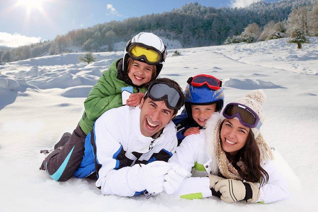 Health benefits of the winter vacation abroad