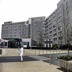 Alfried Krupp Hospital in Essen-Ruettenscheid