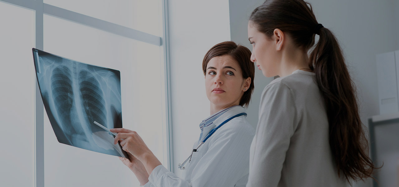 Where is it possible to treat lung cancer?