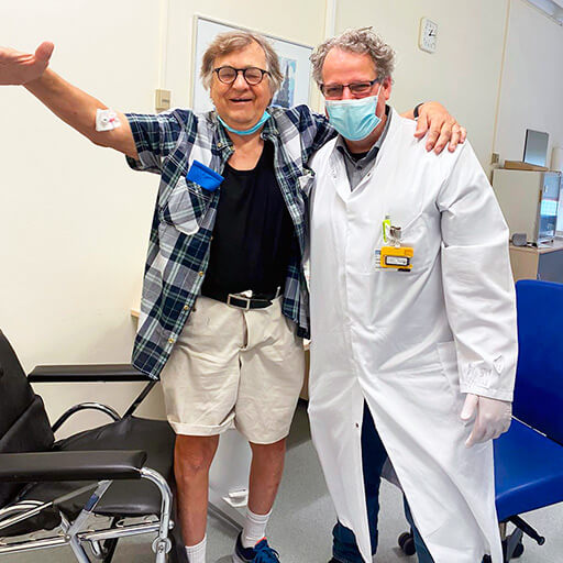 الدكتور في الطب داميانو ليبريزي , مستشفى جامعة ماربورغ