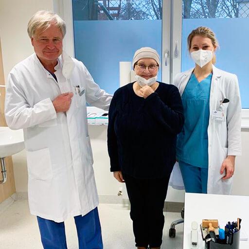 البروفيسور الدكتور في الطب توماس ف. كراوس، المستشفى الأكاديمي نوردويست فرانكفورت أم ماين
