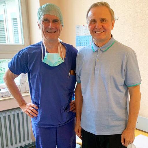 إيجور س، روسيا، يوليو 2021، مستشفى جراحة اليد والجراحة المجهرية للأعصاب الطرفية، آخن، المحاضر البروفيسور الدكتور في الطب. ف. لاسنر.