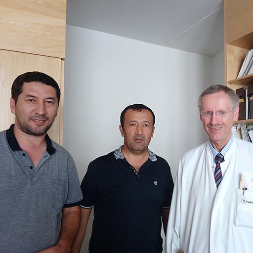 البروفيسور الدكتور والتر زيدك، مستشفى شاريته الجامعي برلين، يوليو 2017