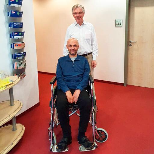 Доктор мед. Герхард Зибенхюнер, Клиника расширенной биологической медицины Франкфурт на Майне