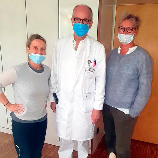 البروفيسور الدكتور في الطب توماس فوغل، مستشفى جامعة غوته فرانكفورت