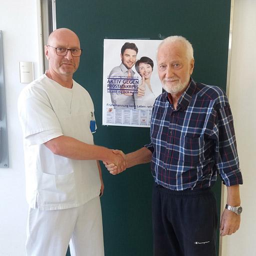 الدكتور فينكلر، مستشفى جامعة سارلاند هومبورغ، سبتمبر 2018