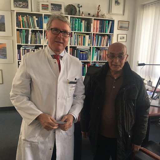 Prof. Dr. med. Bertram Wiedenmann, Charite University Hospital Berlin, September, 2016