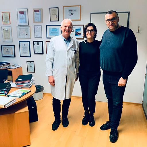 Профессор, Доктор медицины Ханс-Дитер Аллешер, Академическая клиника Гармиш-Партенкирхен, Февраль 2020