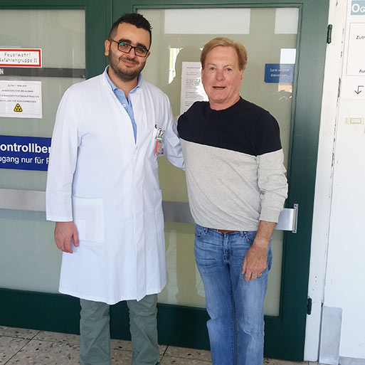 Dr.med. Michel Al Ghazal, University Hospital Saarland Homburg, October 2018