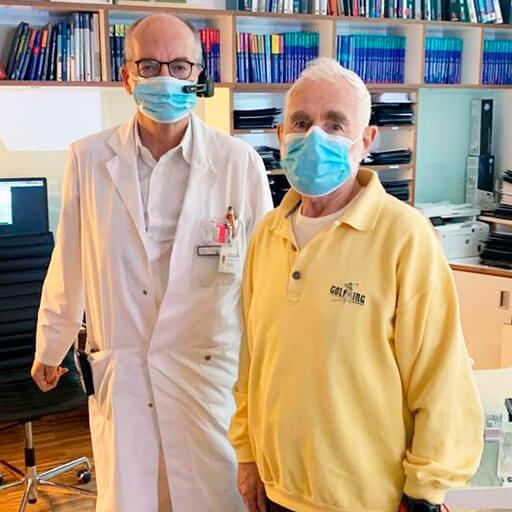 Проф. Доктор мед. Томас Фогль, Университетская клиника им. Гёте Франкфурт на Майне