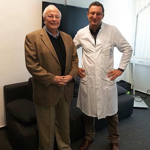 Профессор, Доктор медицины Замер Эззиддин, Университетская клиника Саарланда Хомбург, Ноябрь 2018
