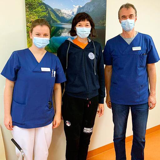 البروفيسور الدكتور في الطب بيرنهارد ماير، مستشفى الجامعة ريختس دير إيزار في ميونيخ
