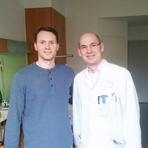 الدكتور في الطب أندرياس بيتر، مشفى نويفيرك ماريا فون دين أبوستيلن مونشغلادباخ، أكتوبر2018