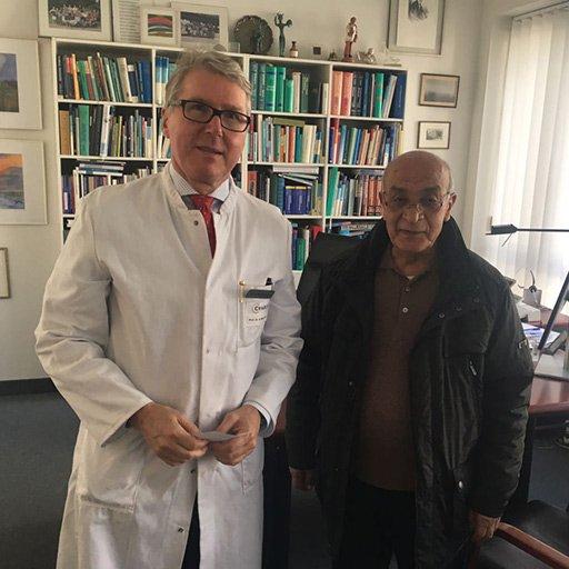 Профессор, Доктор медицины Бертрам Виденманн, Университетская клиника Шарите Берлин, Сентябрь 2016