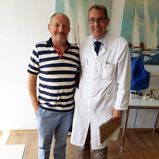 البروفيسور دكتور الطب كريستيان ماير تسوم بيوشينفيلد، مستشفى القديس فنسينتوس - مستشفى الأكاديمية لجامعة فرايبورغ، سبتمبر 2018