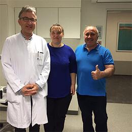 Профессор, Доктор медицины Франк Г. Хольц, Университетская клиника Бонн, Февраль 2017