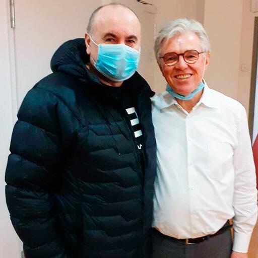 الدكتور في الطب غيرهارد زيبينهونر، مستشفى الطب البيولوجي المتقدم فرانكفورت أم ماين،