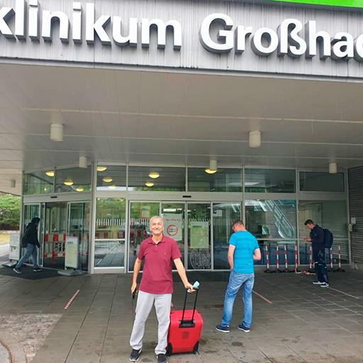البروفيسور الدكتور بيكر، مستشفى جامعة لودفيغ ماكسيميليان في ميونخ