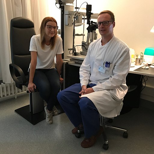 Профессор, Доктор Фингер, Университетская клиника Бонн, Август 2017